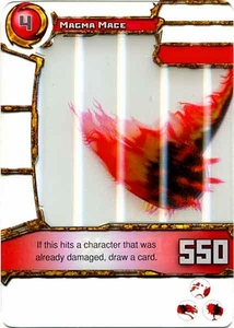 Redakai Power Pack Single Card Common #3108 Magma Mace
