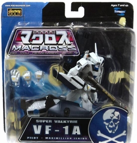 Macross [Robotech] Series 3 Super Poseable Action Figure VF-1A Super Valkyrie Maximillian Jenius