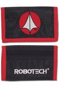 Robotech The Series Canvas Wallet Defense