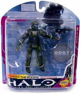 Halo 3 McFarlane Toys Series 6 [MEDAL EDITION] Action Figure ODST Soldier The Rookie