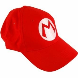 Nintendo Super Mario Baseball Hat Mario [Red]