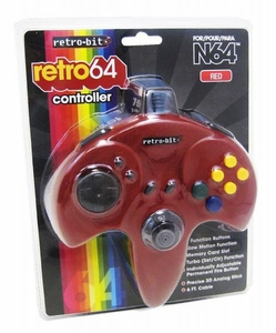 Nintendo Classic N64 Controller [Red] {Random Package Design}