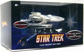Mattel Hot Wheels Star Trek Movie 1:50 Scale Die-Cast Vehicle U.S.S. Reliant NCC-1864 [Battle Damaged]
