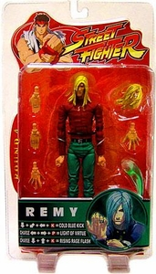 Sota Toys Street Fighter Series 4 Action Figure Remy [Red Shirt, Green Pants]