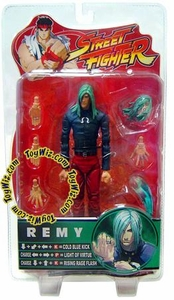 Sota Toys Street Fighter Series 4 Action Figure Remy [Black Shirt, Red Pants]
