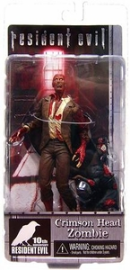 NECA Resident Evil 10th Anniversary Series 2 Action Figure Crimson Head Zombie with Zombie Dog