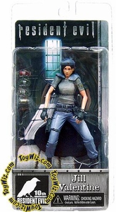 NECA Resident Evil 10th Anniversary Series 1 Action Figure Jill Valentine [Blue Hat & Pants]