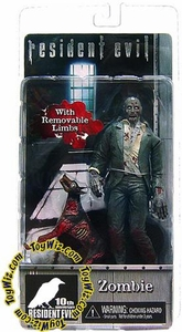 NECA Resident Evil 10th Anniversary Series 1 Action Figure Zombie with Dog