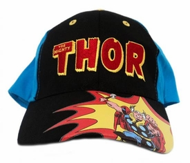Thor Baseball Cap [Black Front Panel]
