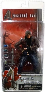 NECA Resident Evil 4 Series 1 Action Figure Leon S. Kennedy with Jacket