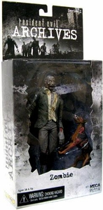 NECA Resident Evil Archives Series 1 Action Figure Zombie with Dog