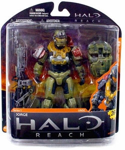 Halo Reach McFarlane Toys Series 1 Action Figure Jorge [Noble 5] {Masked}