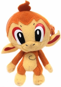 Pokemon Banpresto 3 Inch Mini Plush Reversible Pokeball to Pokemon Chimchar