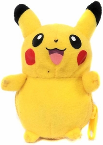 Pokemon Banpresto 3 Inch Mini Plush Reversible Pokeball to Pokemon Pikachu