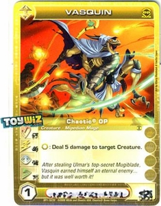 Chaotic Trading Card Game OP Organized Play Promo Single Card Rare #OP1-10 Vasquin