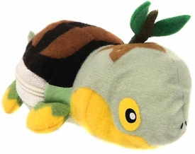 Pokemon Banpresto 3 Inch Mini Plush Reversible Pokeball to Pokemon Turtwig