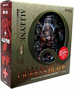 Queen's Blade Revoltech #007 Super Poseable Action Figure Alleyne