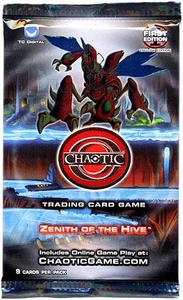 Chaotic Card Game Series 2 Zenith of the Hive Booster Pack