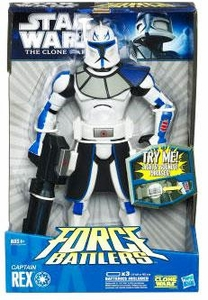 Star Wars 2010 Clone Wars Force Battlers Action Figure Rex