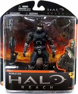 Halo Reach McFarlane Toys Series 1 Action Figure Noble Six [Spartan]