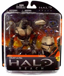 Halo Reach McFarlane Toys Series 1 Action Figure Grunt Ultra BLOWOUT SALE!