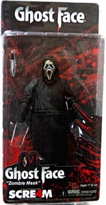 NECA Cult Classics Series Action Figure Ghost Face {Zombie Mask} [Scream 4]