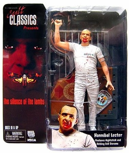 NECA Cult Classics Action Figure Holding Cell Hannibal Lecter [Silence of the Lambs]