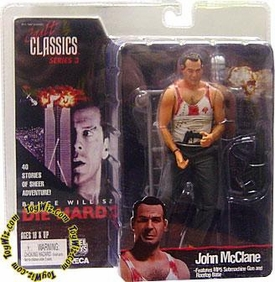 NECA Cult Classics Series 3 Action Figure John McClane [Bruce Willis From Die Hard]