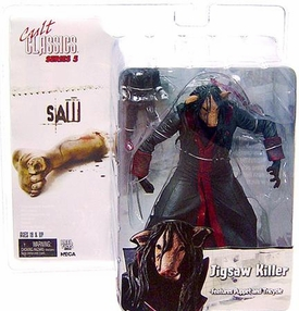 NECA Cult Classics Series 5 Action Figure Jigsaw Killer Masked [Saw]