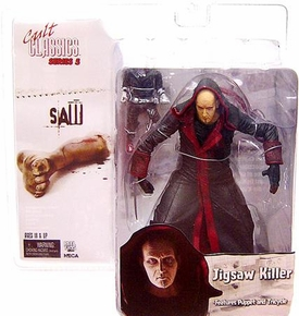 NECA Cult Classics Series 5 Action Figure Jigsaw Killer Unmasked [Saw]