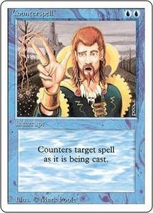 Magic the Gathering Revised Edition Single Card Uncommon Counterspell