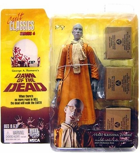 NECA Cult Classics Series 6 Action Figure Hare Krishna Zombie [Dawn of the Dead]