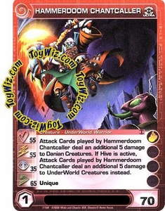 Chaotic Trading Card Game Zenith of the Hive Underworld Creature Single Card Ultra Rare #7 Hammerdoom Chantcaller MEGA RARE!