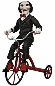 NECA Saw 12 Inch Deluxe Action Figure Billy with Tricycle