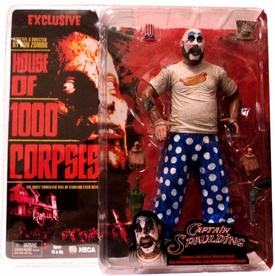 NECA Cult Classics Exclusive Action Figure Captain Spaulding {Hot Dog T-Shirt} [House of 1000 Corpses]