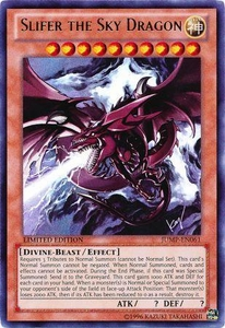 YuGiOh Shonen Jump Promo Single Card Ultra Rare JUMP-EN061 Slifer the Sky Dragon [Playable Version!]