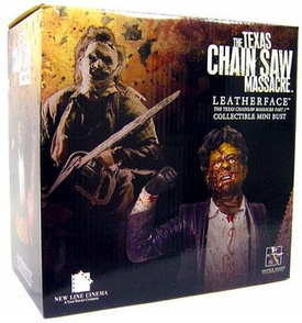 Gentle Giant Texas Chainsaw Massacre Collectible Mini Bust Leatherface