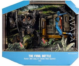 Mattel James Cameron's Avatar Movie SDCC 2010 San Diego Comic Con Exclusive Playset Final Battle [Avatar Jake Sully Vs. Colonel Miles Quaritch]
