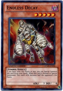 YuGiOh Shonen Jump Promo Single Card Ultra Rare JUMP-EN056 Endless Decay BLOWOUT SALE!