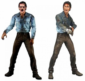 NECA Evil Dead 2 Set of Both Action Figures [Farewell to Arms & Deadite Ash]