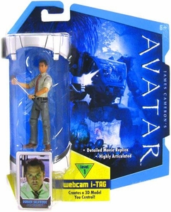James Cameron's Avatar Movie 3 3/4 Inch RDA Action Figure Parker Selfridge BLOWOUT SALE!