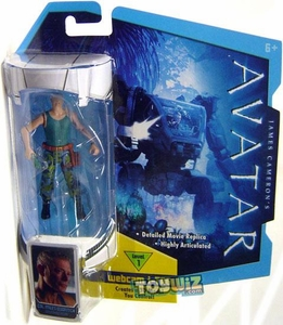 James Cameron's Avatar Movie 3 3/4 Inch RDA Action Figure Colonel Miles Quaritch
