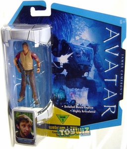 James Cameron's Avatar Movie 3 3/4 Inch RDA Action Figure Norm Spellman [Human Body] BLOWOUT SALE!