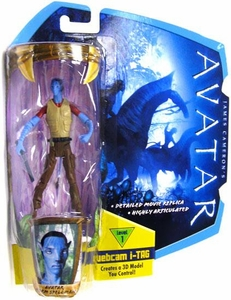 James Cameron's Avatar Movie 3 3/4 Inch RDA Action Figure Norm Spellman in Civilian Clothes [Na'Vi Avatar]