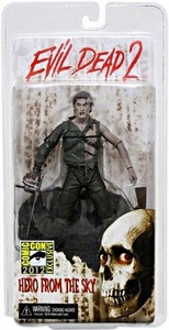 NECA Evil Dead 2 2012 SDCC San Diego Comic Con Exclusive Action Figure Hero From The Sky Ash