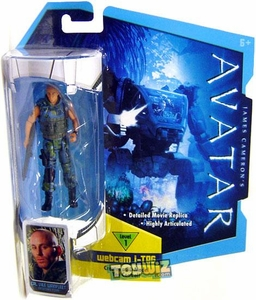 James Cameron's Avatar Movie 3 3/4 Inch RDA Action Figure Corporal Lyle Wainfleet BLOWOUT SALE!