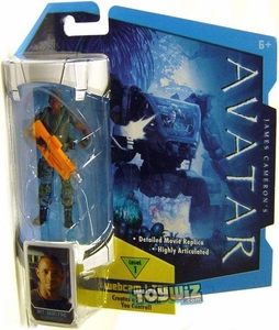 James Cameron's Avatar Movie 3 3/4 Inch RDA Action Figure Private Sean Fike [No Face Mask]