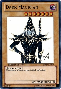 YuGiOh Shonen Jump Promo Single Card Ultra Rare JUMP-EN049 Dark Magician [New Artwork!]