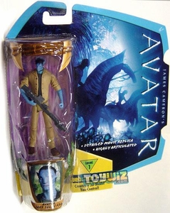 James Cameron's Avatar Movie 3 3/4 Inch Na'vi Action Figure Jake Sully in RDA Uniform [Na'Vi Avatar] BLOWOUT SALE!