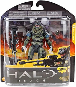 Halo Reach McFarlane Toys Series 3 Action Figure Jun [Noble 3]